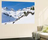 Reichenspitze Range, Hohe Tauern, Richterhuette Mountain Hut, Austria Affiches par Martin Zwick
