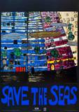 Save the Seas Prints by Friedensreich Hundertwasser