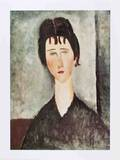 La Fanciulla Bruna Collectable Print by Amedeo Modigliani