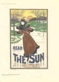 Read The Sun Collectable Print by Louis J. Rhead