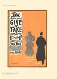 Give & Take Collectable Print by D. Whitelaw