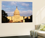 Capitol Building at Dusk, Washington DC, USA Posters af Walter Bibikow