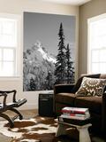 Snow-Covered Mountain, Cascade Range, Mt Rainier National Park, Washington, USA Prints by Paul Souders