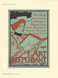 L'Art Independant Collectable Print by Armand Rassenfosse