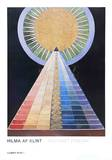 Altarpiece, No. 1, Group X Posters by Hilma af Klint
