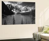 Wenkchemna Peaks Reflected in Moraine Lake, Banff National Park, Alberta, Canada Plakater af Adam Jones