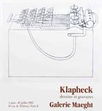 Dessins et Gravures Plakater af Konrad Klapheck
