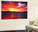 Sunset over Farmington Bay, Utah, USA Posters af Scott T. Smith