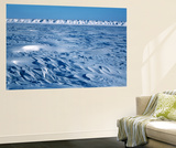 Wind Blown Snowdrift, Arctic Coastal Plain, Alaska, USA Prints by Hugh Rose