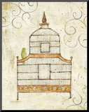Bird Cage III Mounted Print by Avery Tillmon