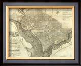 Plan of the City of Washington, c.1795 Art by John Reid