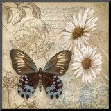 Butterfly Garden I Mounted Print by Conrad Knutsen