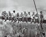 Trabajadores siderúrgicos de Manhattan Lámina
