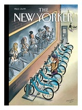 The New Yorker Cover - June 3, 2013 Regular Giclee Print by Marcellus Hall