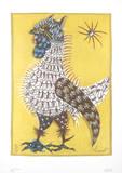 Le Coq-Pecheur Prints by Jean Lurcat