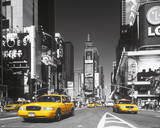 Times Square - Yellow Cab Affiches