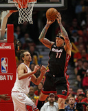 Jonathan Daniel - Chicago, IL - May 13: Chris Anderson and Joakim Noah - Photo