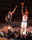 New York, NY - May 16: J.R. Smith and Gerald Green Photographic Print by Nathaniel S. Butler