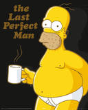 Simpsons - Homer Coffee Break Poster