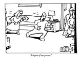 """It's part of our process."" - New Yorker Cartoon Premium Giclee Print by Bruce Eric Kaplan"