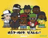 Weenicons - Hiphop Plakát