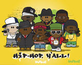 Weenicons - Hiphop Pósters