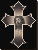 Jesus Cristo Stretched Canvas Print by Chuey Quintanar