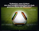 Fussball ist... Posters