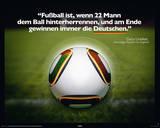 Fussball ist... Prints