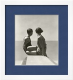 Vogue - July 1930 Framed Photographic Print by George Hoyningen-Huené