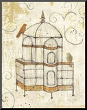Bird Cage I Mounted Print by Avery Tillmon