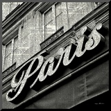 Newsprint Paris Mounted Print by Marc Olivier