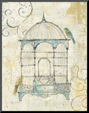 Bird Cage IV Mounted Print by Avery Tillmon