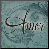 Amor Mounted Print by Patricia Quintero-Pinto