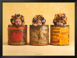 Anne's Pansies Posters by Anne Geddes