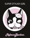 Rebecca Bonbon - Super Stylish Girl Posters