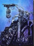 The Triumph of Life Reproduction transférée sur toile par David Lozeau