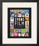 Alfabeto do Cinema de A a Z, anos 1980 Pôsters por Stephen Wildish