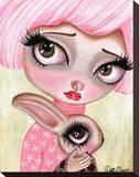 A Precious Love Stretched Canvas Print by Dottie Gleason