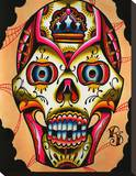 Muerto II Stretched Canvas Print by Ryan Downie