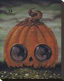 Fiendish Glee Stretched Canvas Print by  Sugar Fueled