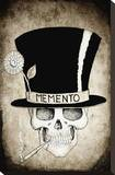 Memento Top Hat Stretched Canvas Print by  Shayne of the Dead