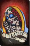 Memento II Stretched Canvas Print by  Shayne of the Dead