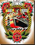 Long Live the Queen Stretched Canvas Print by Tyler Bredeweg