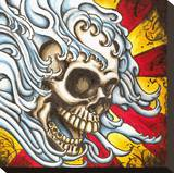 Flow Stretched Canvas Print by  Shayne of the Dead