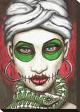 Marie Stretched Canvas Print by  Shayne of the Dead
