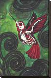 Beija-flor Impressão em tela esticada por  Shayne of the Dead