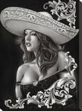 Ceeze Charra Stretched Canvas Print by  Big Ceeze