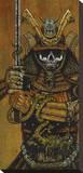 By the Sword of the the Samurai Reproduction transférée sur toile par David Lozeau