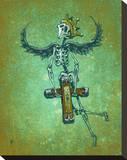 Heavy Burden Stretched Canvas Print by David Lozeau